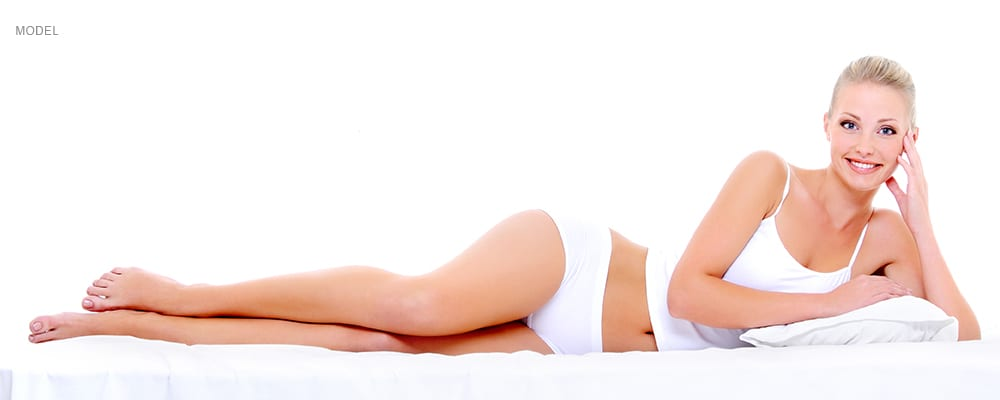 AAMedspa_BodyContouring_female in white laying down