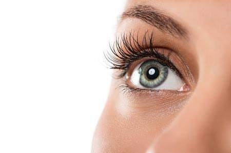 Close Up of Single Hazel Eye