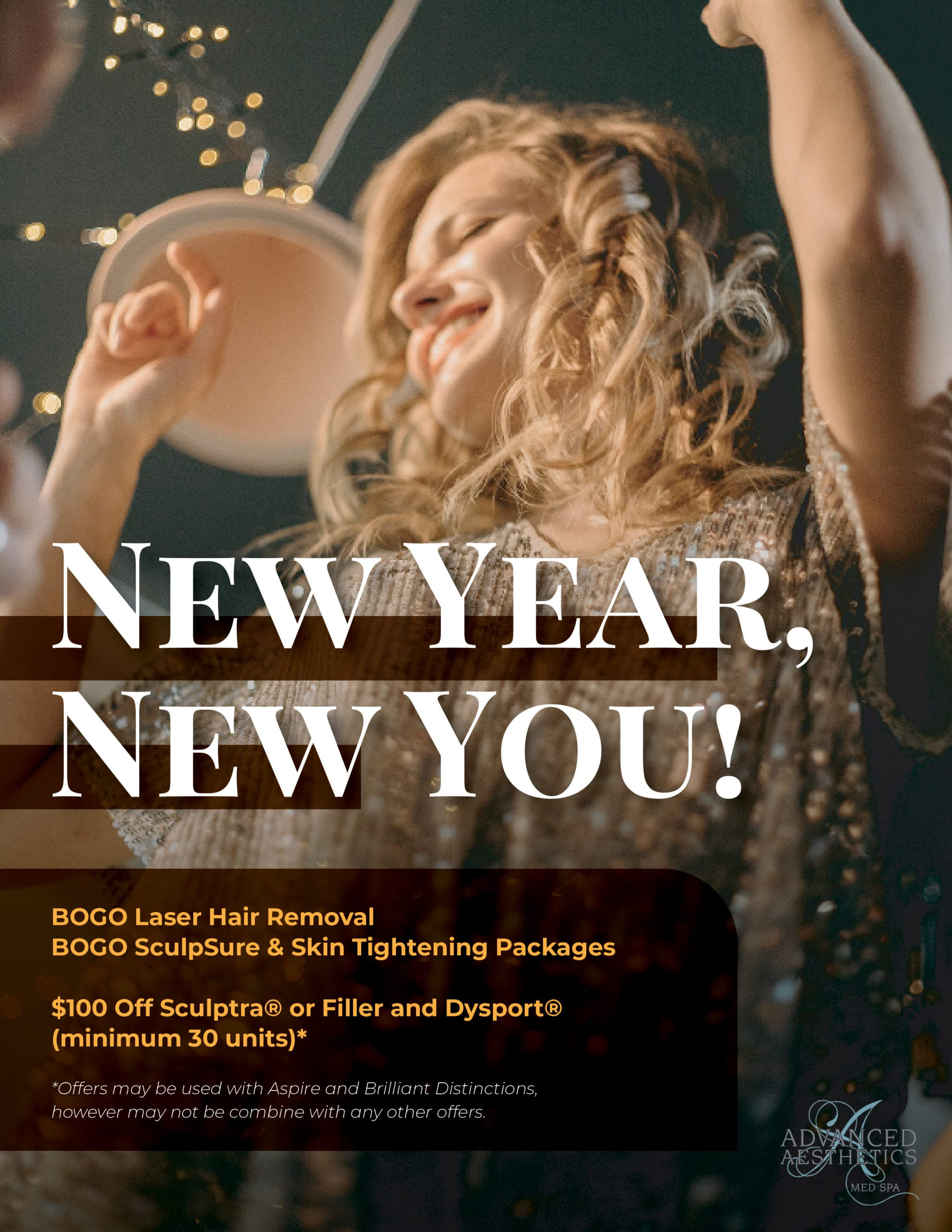New Year, New You add for special packages