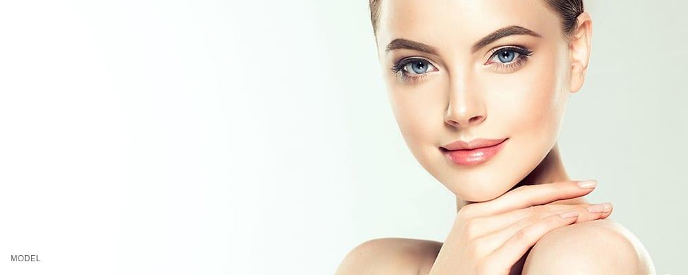 AAMedspa_Sugarlash Lash Lift_model with pretty eyelashes